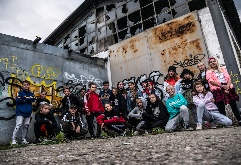 Grupa taneczna z Opola, którą trenuje instruktor Angelika NG Gnacy