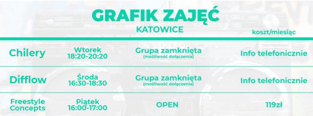 Zajęcia taneczne dla dzieci, młodzieży i dorosłych Hip Hop Buda Katowice